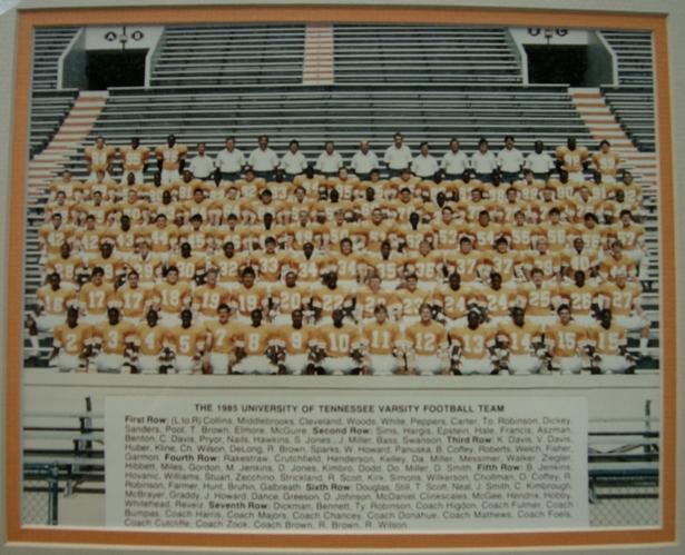 1985 Tennessee Volunteers football team
